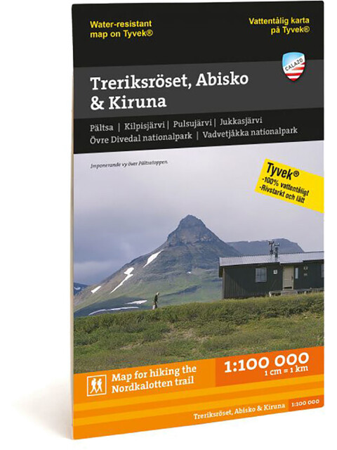 Calazo Treriksröset, Abisko & Kiruna 1:100.000